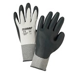 West Chester 7715SNFP Nitrile Palm Coated Gloves Size XS - 12 pk.